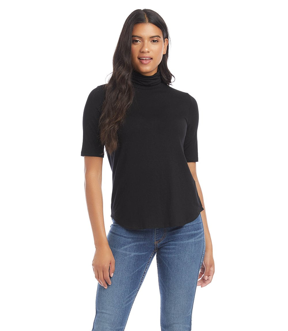 Karen Kane Pencil Sleeve Turtleneck