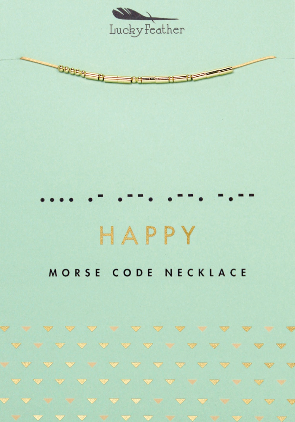 Morse Code Necklace (Various Styles)