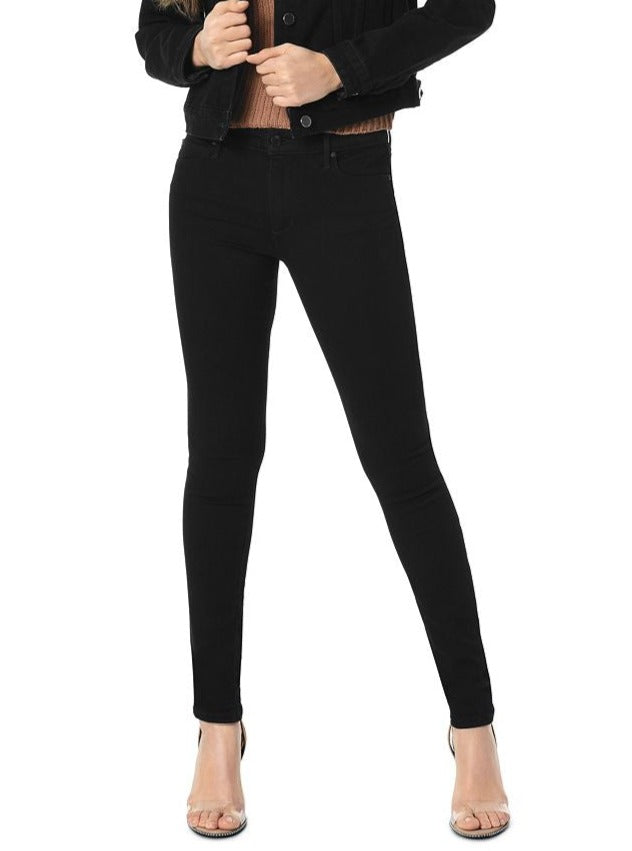 Joes Jeans The Icon Mid-Rise Skinny in Regan Black