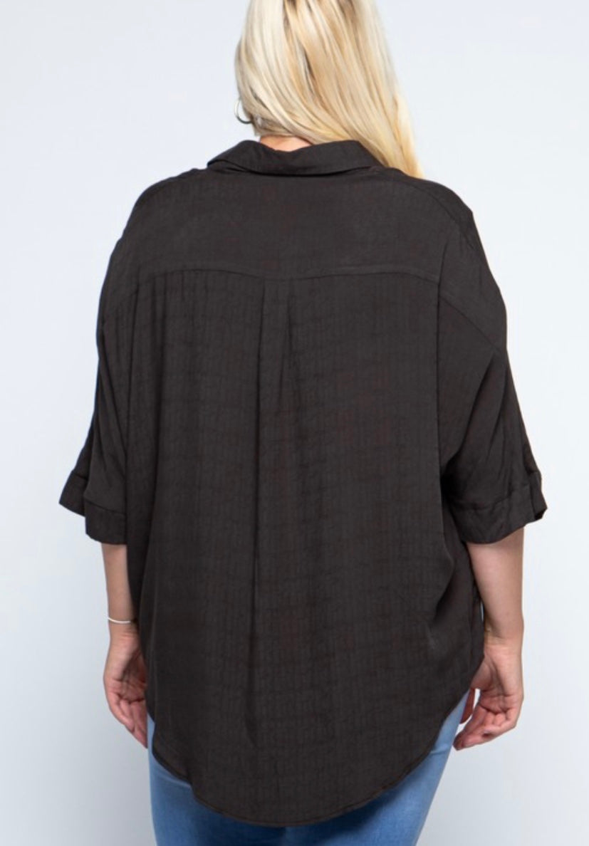 Jacie 3/4 Sleeve Top
