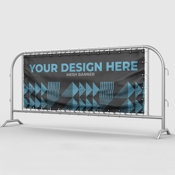 Mesh Banners - The Festival Company - Festival and Event Production Company