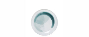 POOL breakfast plate, petrol blue