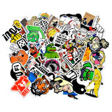 100 Japanese Domestic Market JDM Waterproof Stickers