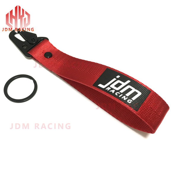 JDM RACING Hanging Strap Key Rope with Clip Buckle