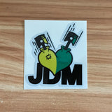 Reflective JDM Style HellaFlush Car Sticker