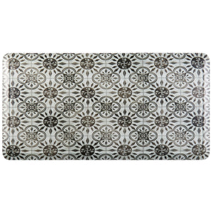 "20"" x 39"" Oversized Cushioned Embossed Gentle Step Anti-Fatigue Kitchen Mat (Tile 1110022) - Kitchen Mats - J&V Textiles Premiere Home Goods"