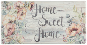 "Oversized 20""x39"" Anti-Fatigue Embossed Floor Mat (Home Sweet Home) - Kitchen Mats - J&V Textiles Premiere Home Goods"