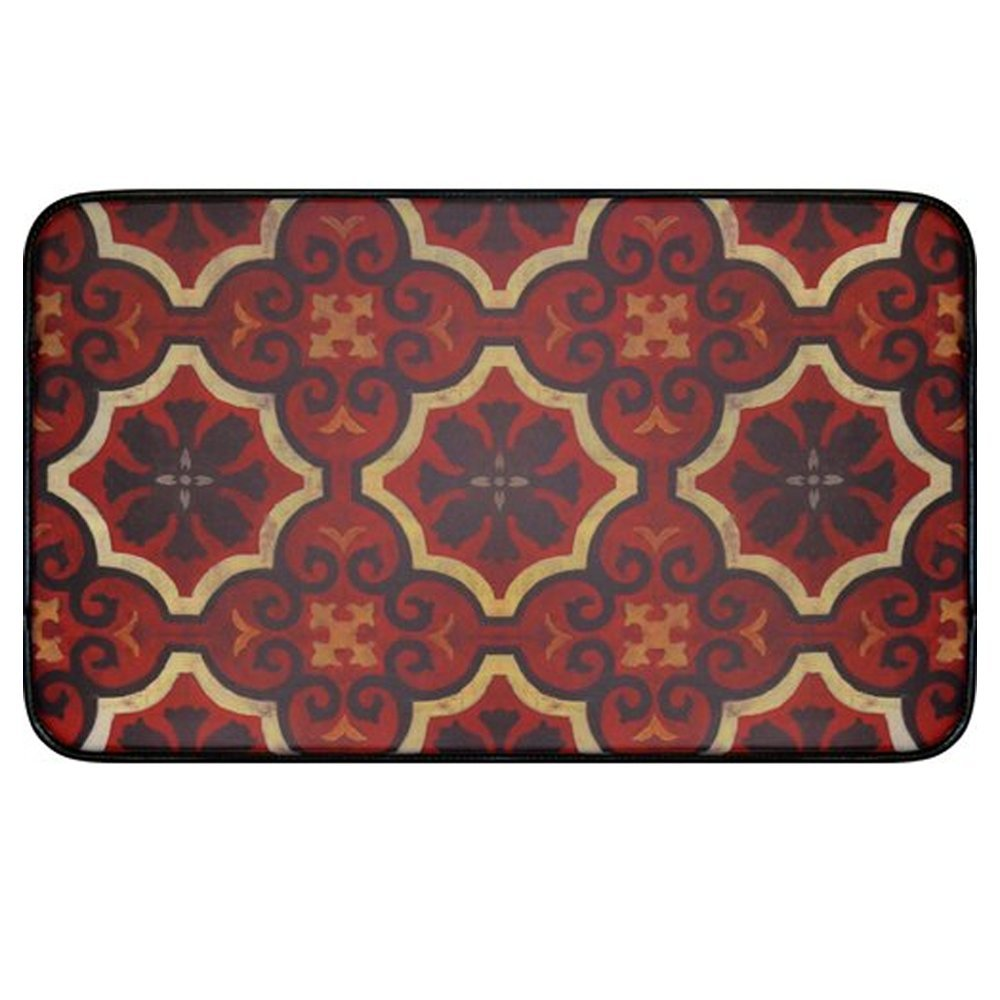 "Oversized Chef Series 24""x36"" Antifatigue Kitchen Mats (Marrakesh) - Kitchen Mats - J&V Textiles Premiere Home Goods"