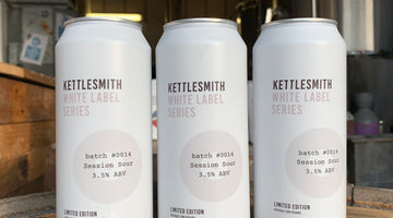 Latest 'White Label' beer - Session Sour