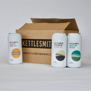 Kettlesmith Case of Beer (12x440ml cans)