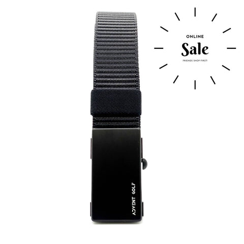 Advent Black Nylon Belts