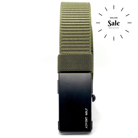 Advent Green Nylon Belt