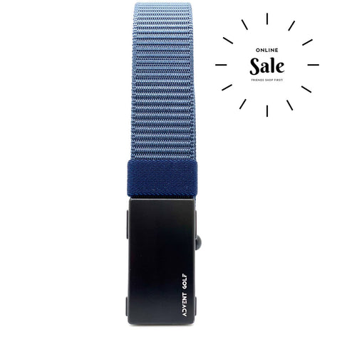 Advent Blue Nylon Belt
