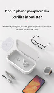 Buy Sanitiser Box with Wireless Charger
