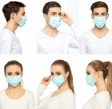 Load image into Gallery viewer, 10PC Disposable Face Mask - Coronavirus, Medical, Surgical, Antiviral Face Coverings Masks