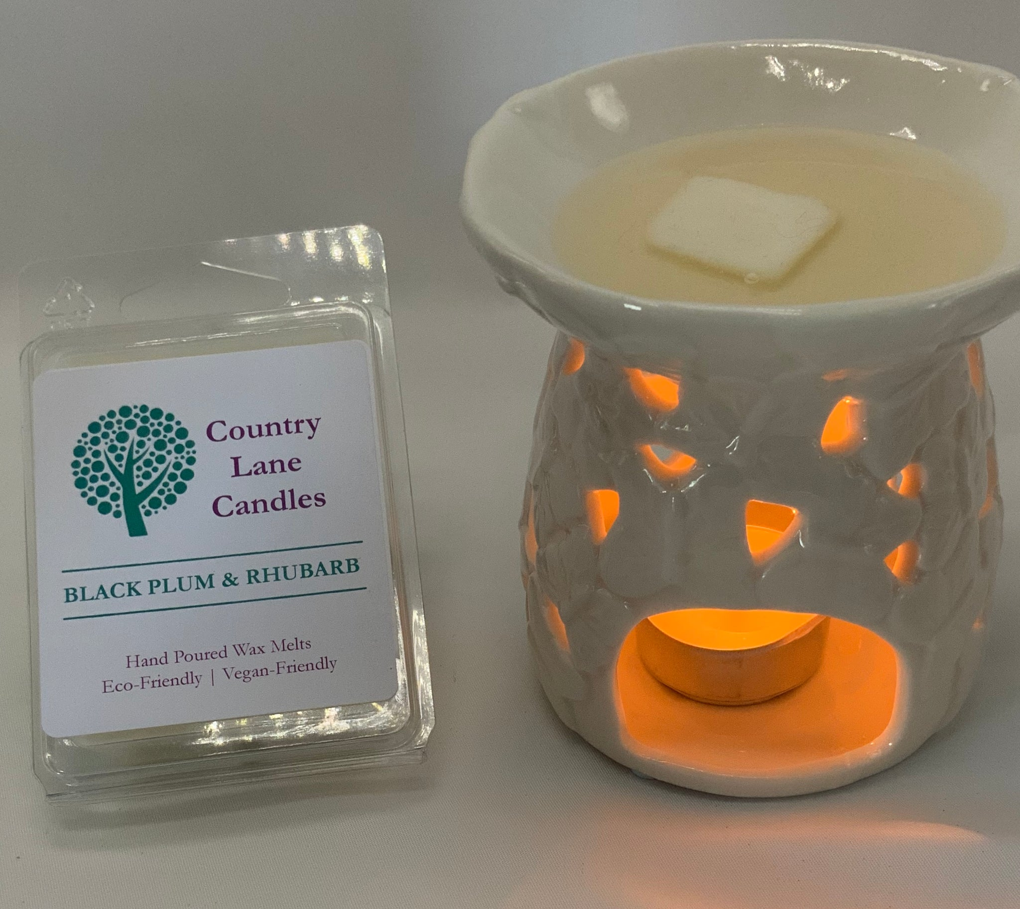 Black Plum & Rhubarb Wax Melts