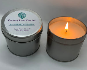 Blueberry & Vanilla 200g Candle