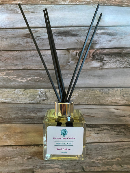 NEW! Fresh Linen Reed Diffuser