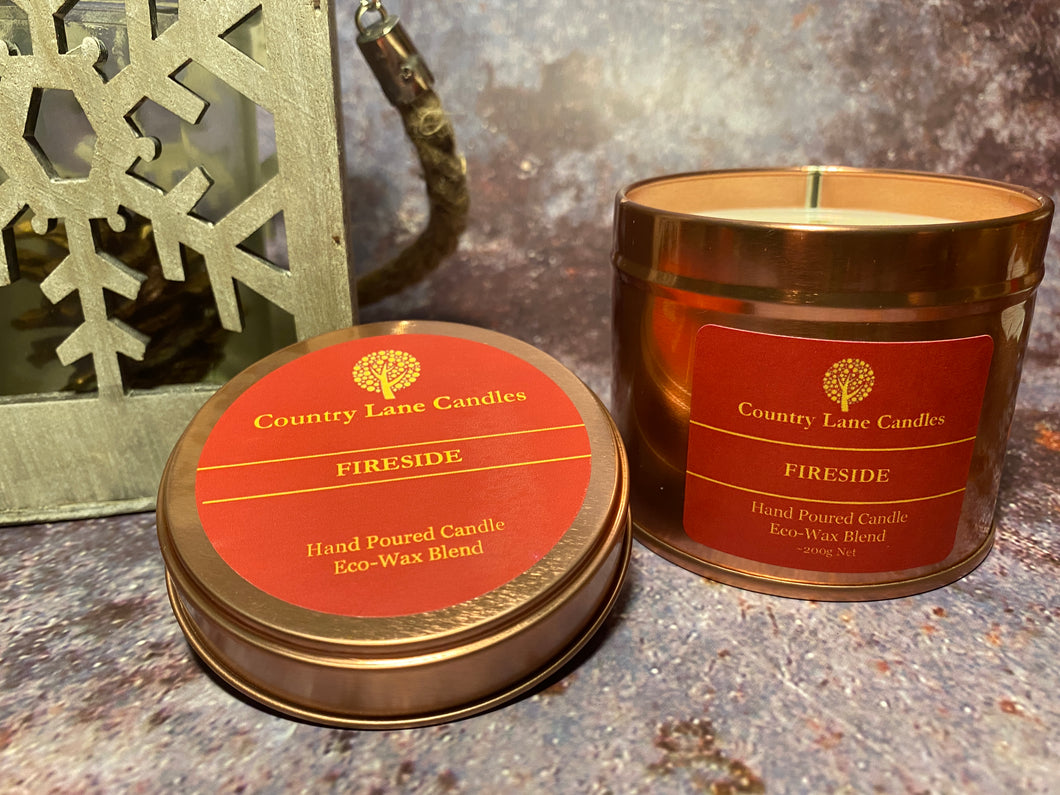 Fireside 200g Candle