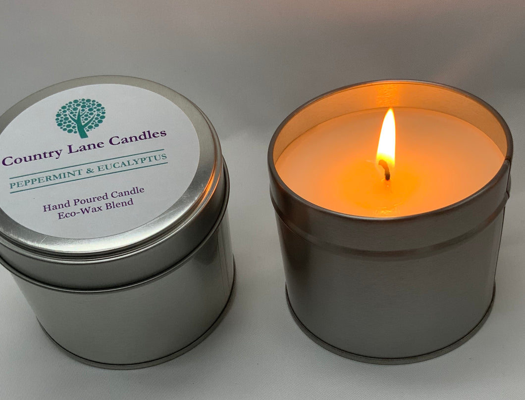 Peppermint & Eucalyptus 200g Candle