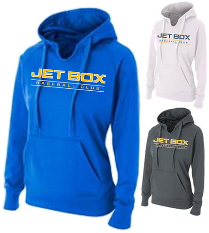 Womans Performance  Fleece Hoodie