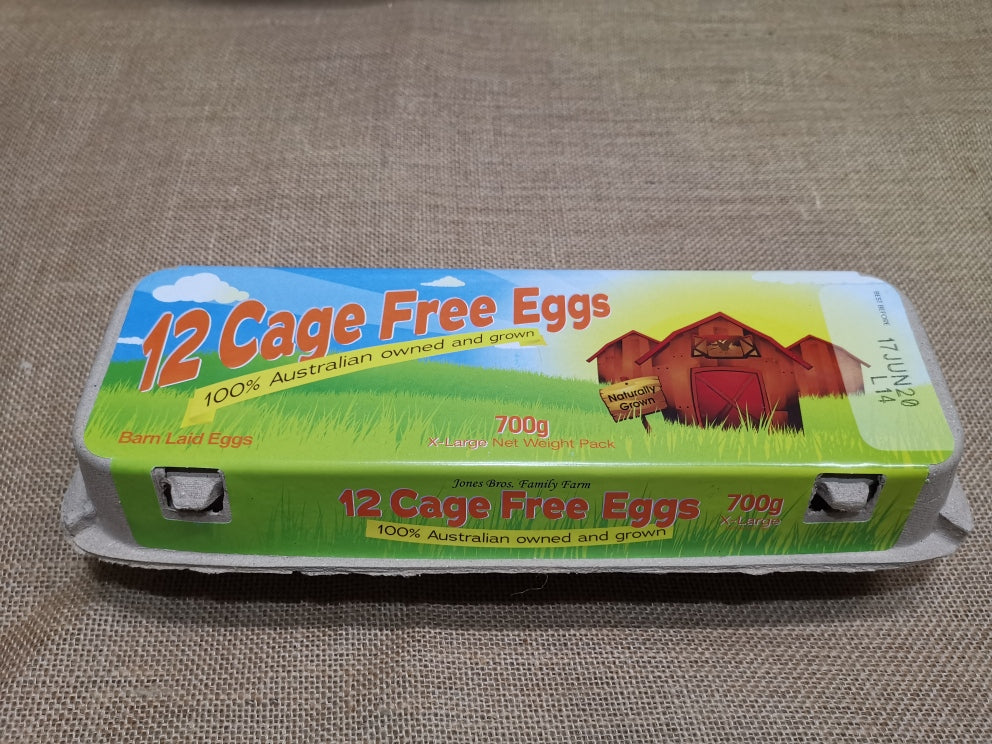 Eggs - Caged (per dozen)