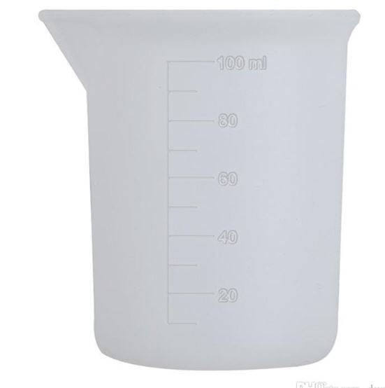 100ML Epoxy Cups - Transparent Silicone