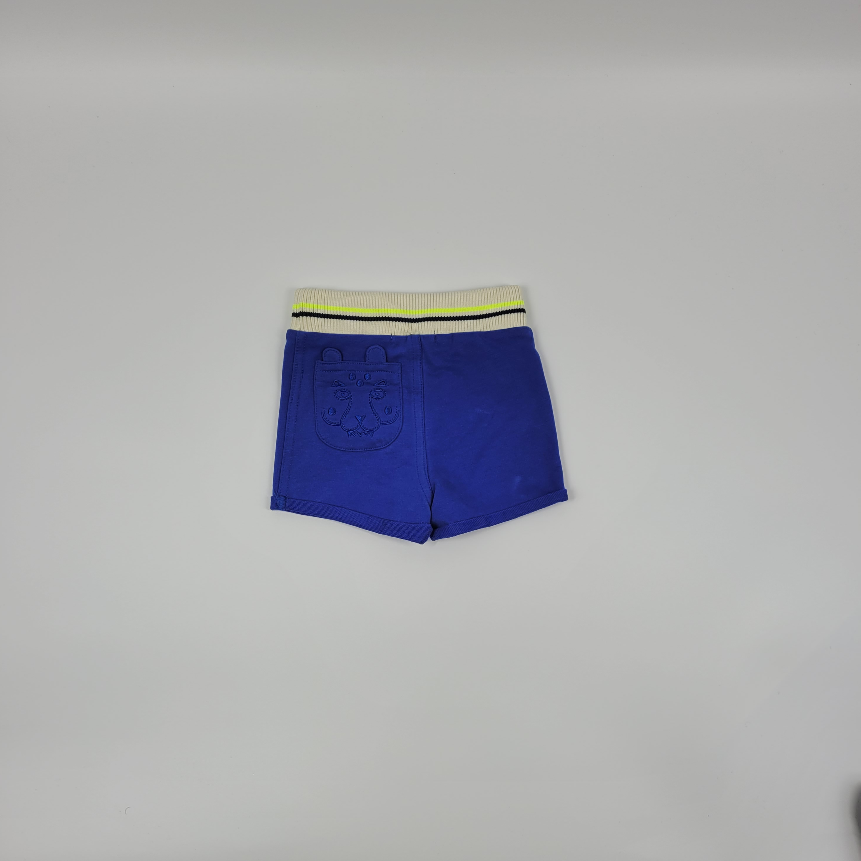 Billybandit Short in Blue and Cream