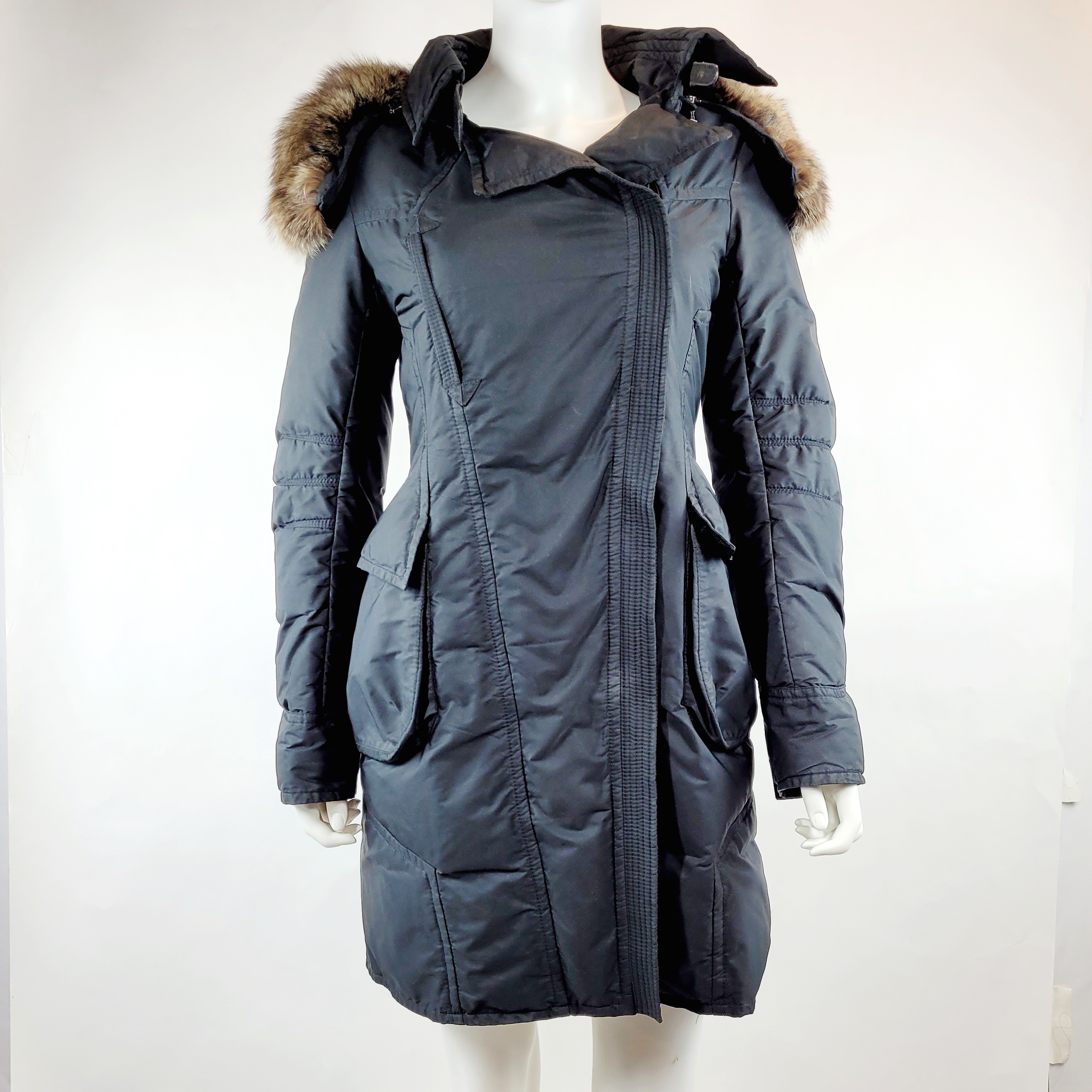 Ermanno Scervino Jacket/Coat in Black