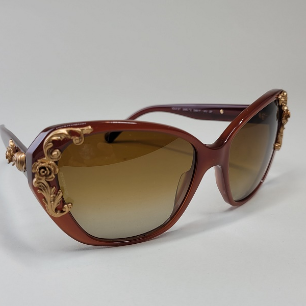 Dolce and Gabanna Burgundy Sunglasses