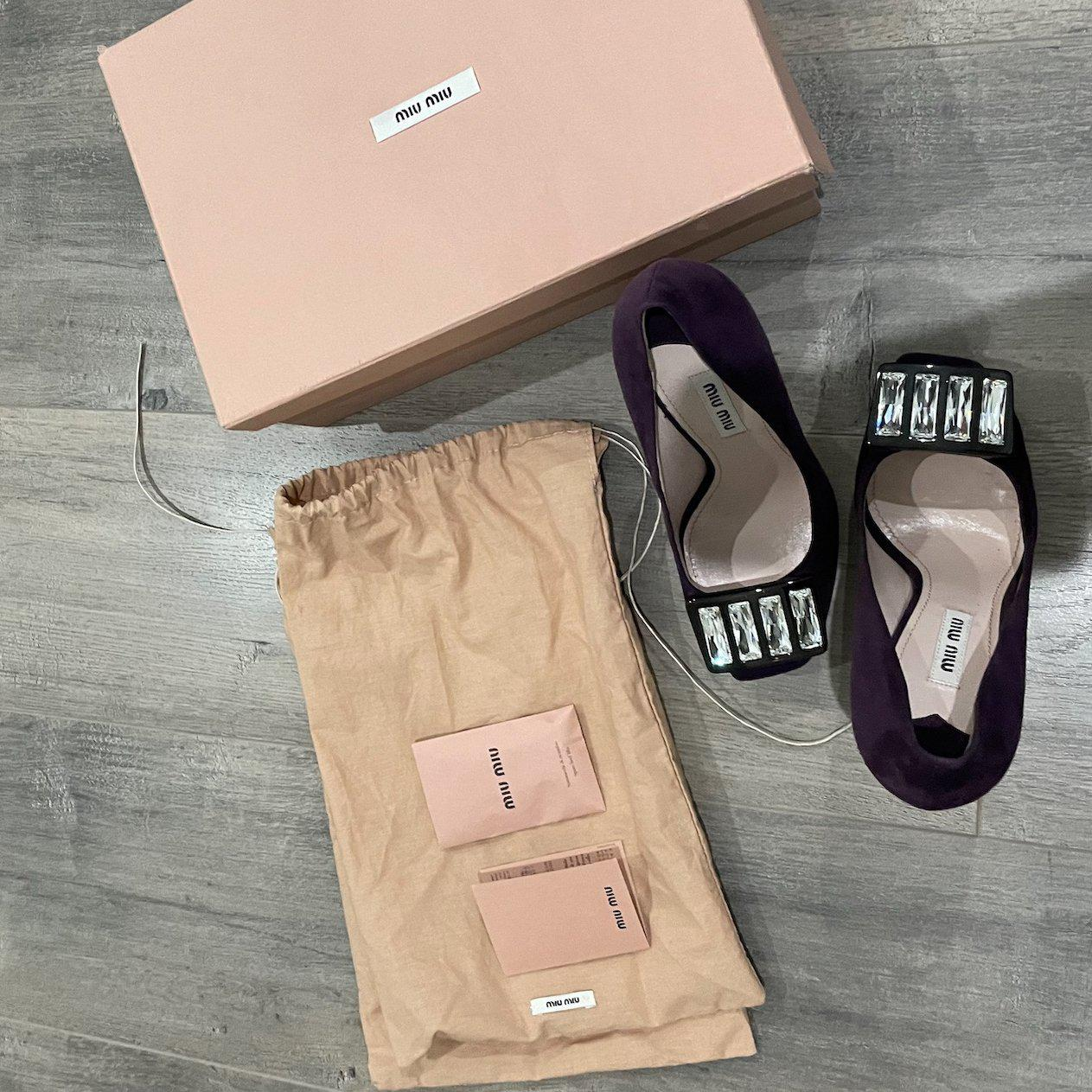 authentic miu miu pumps