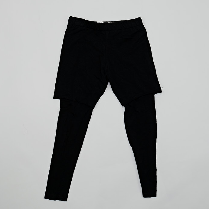 Hudson + Hobbs Short Leggings Combo in Black