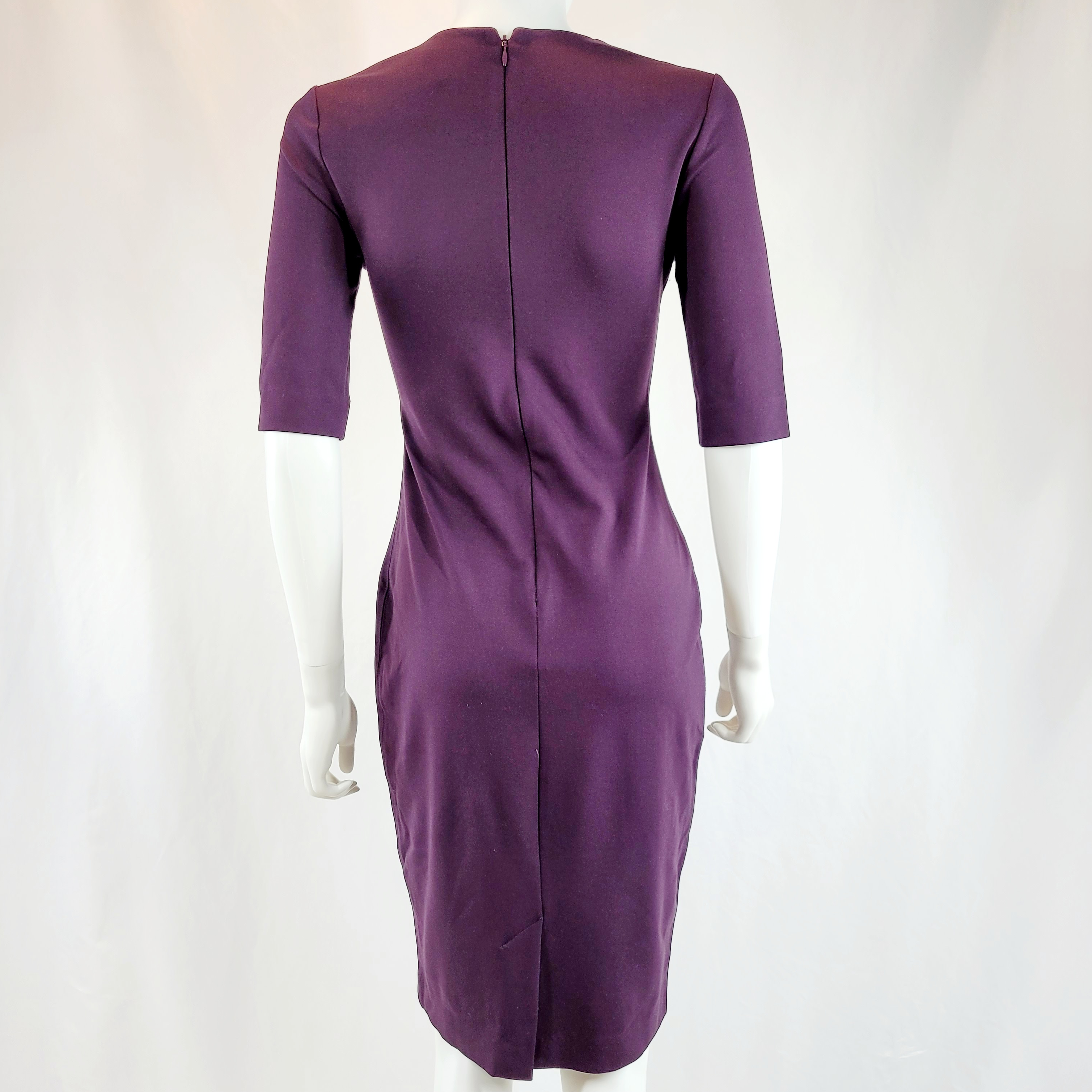 Babaton Dark Purple Womens Dress