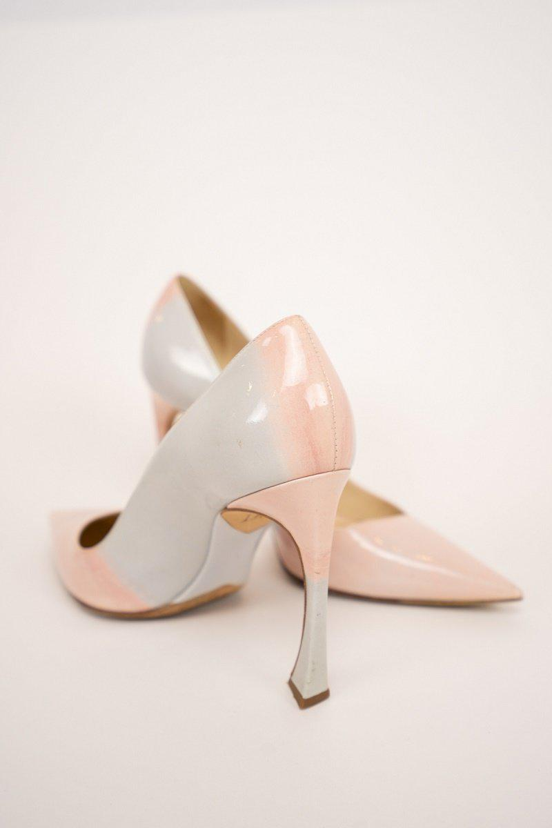Christian Dior Songe Ombre Patent Pumps
