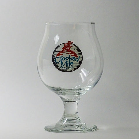 Crooked Mile Glass - 16oz Belgian