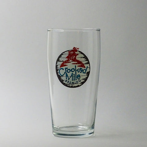 Crooked Mile Glass - 13oz Pub