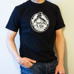 Crooked Mile t-shirt - Mens - Black