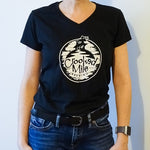 Crooked Mile t-shirt - Womens - Black