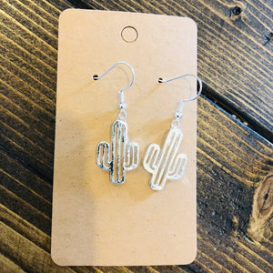 Cactus Dangle Earrings