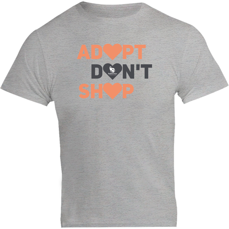 Adopt Don't Shop - Unisex Tee - Plus Size