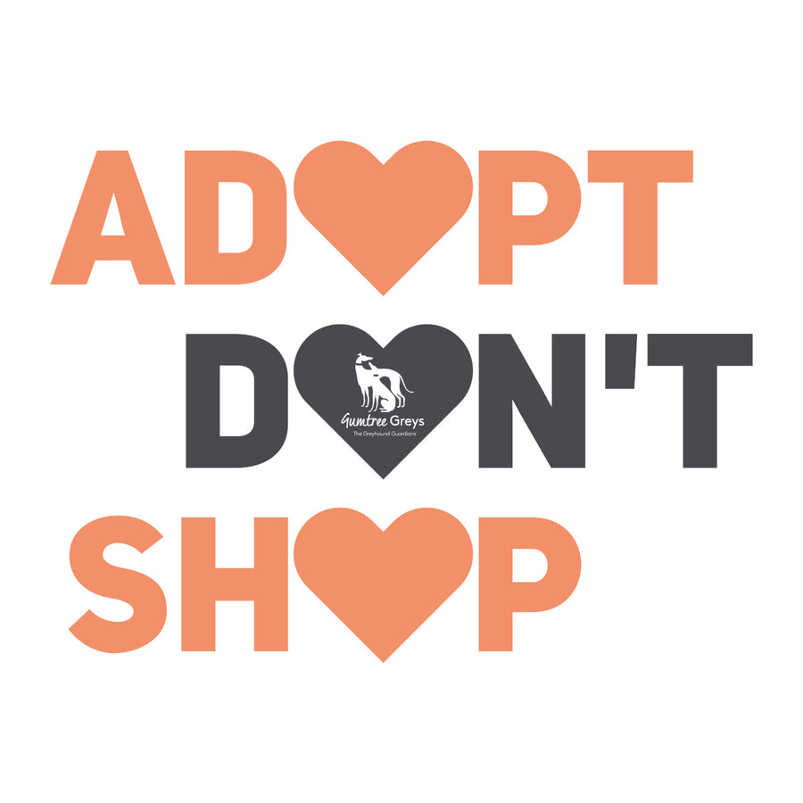 Adopt Don't Shop - Unisex Tee