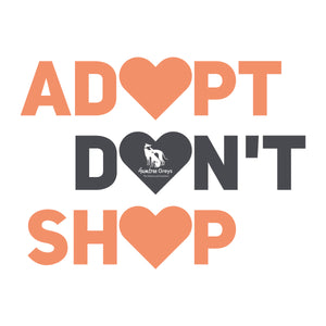 Adopt Don't Shop - Unisex Hoodie - Plus Size