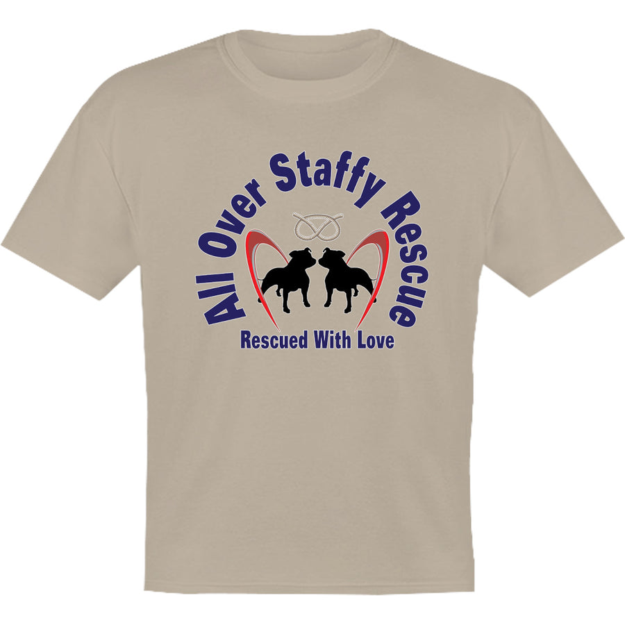 All Over Staffy Rescue - Youth & Infant Tee - Graphic Tees Australia