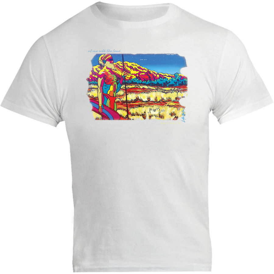 At One With The Land - Unisex Tee - Graphic Tees Australia