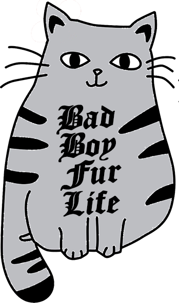 Bad Boy Fur Life - Youth & Infant Tee - Graphic Tees Australia