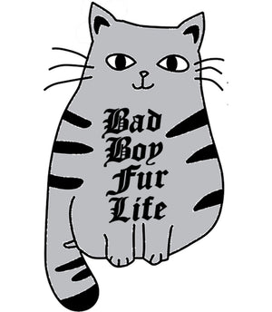 Bad Boy Fur Life - Adult & Youth Hoodie - Graphic Tees Australia