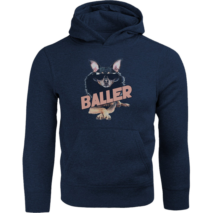 Baller - Adult & Youth Hoodie - Graphic Tees Australia