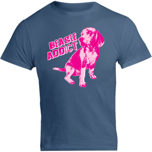 Beagle Addict - Unisex Tee - Graphic Tees Australia