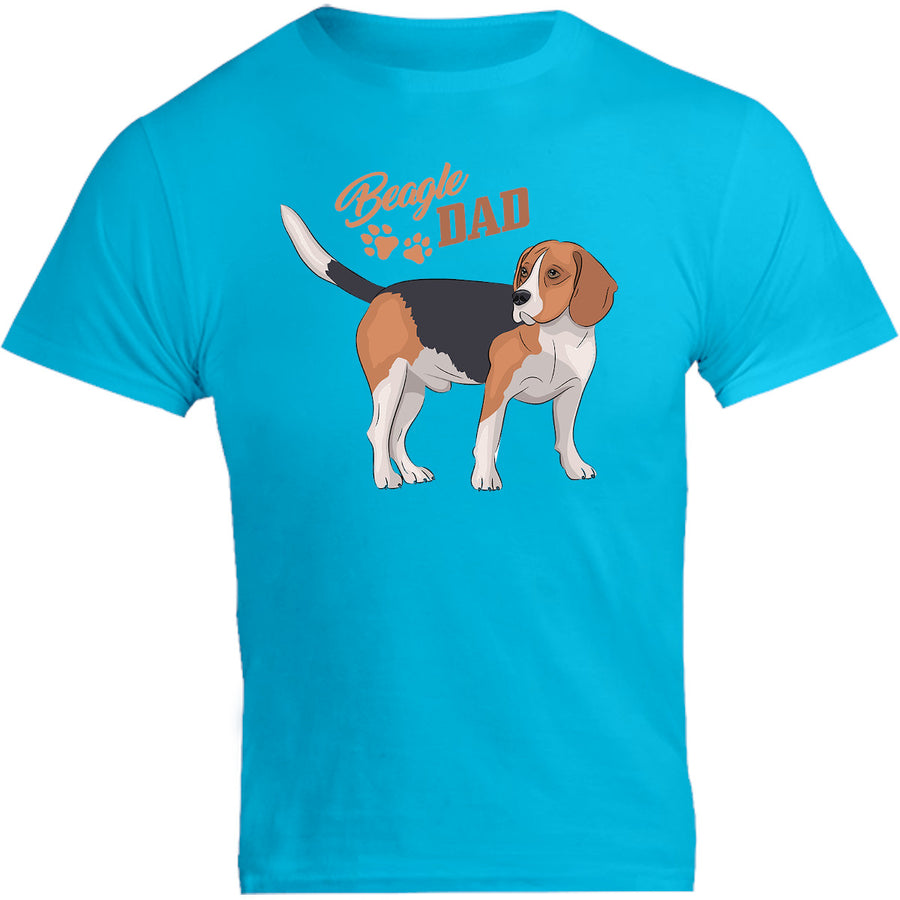 Beagle Dad - Unisex Tee - Graphic Tees Australia
