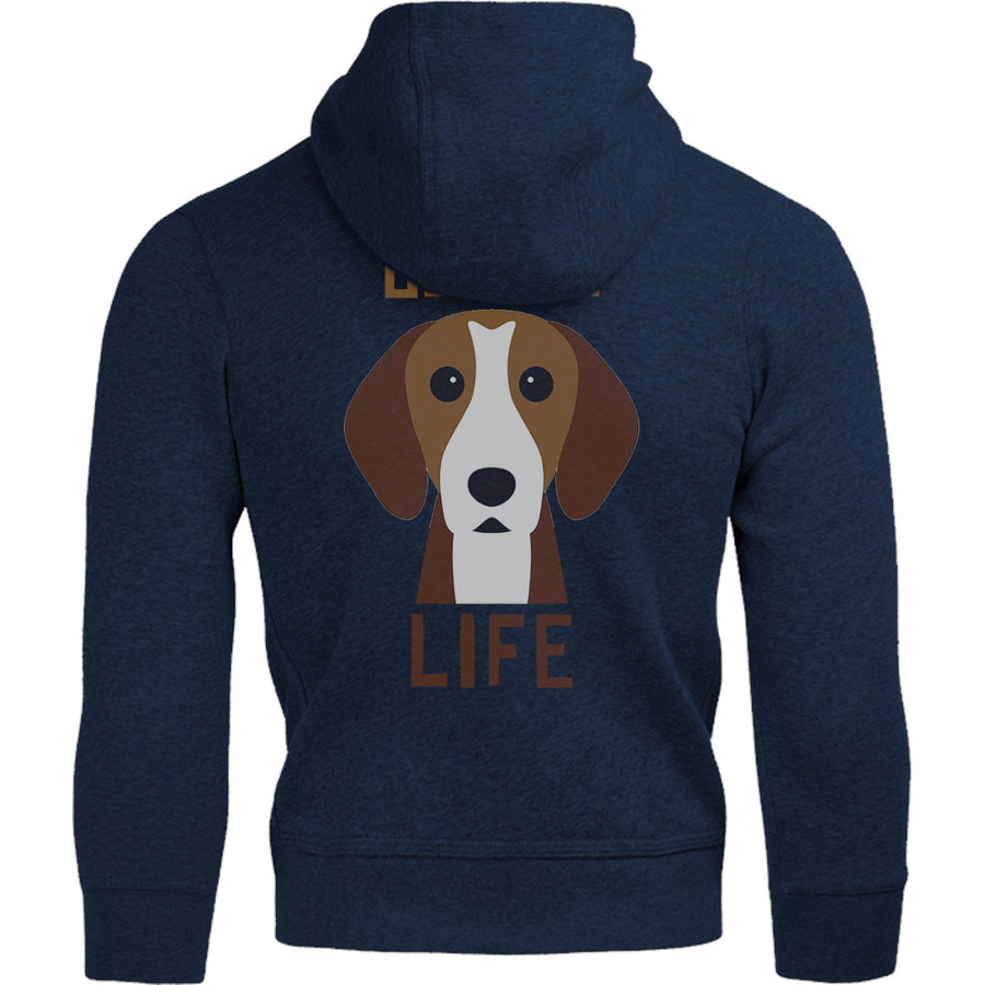 Beagle Life - Adult & Youth Hoodie - Graphic Tees Australia